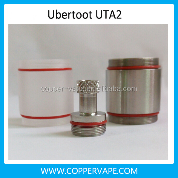 2015 Sep most popular hurricane atomizer great flavour Ubertoot uta 2 clone hurricane rda cheap
