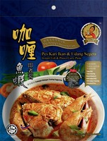 Instant Fish & Prawn Curry Paste