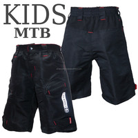 Kid mountain bike/MTB baggy shorts