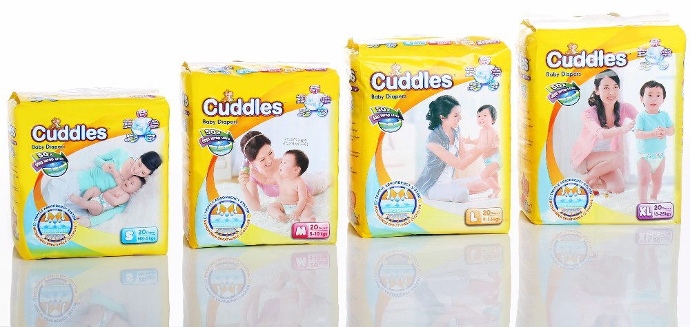 cuddles baby diapers