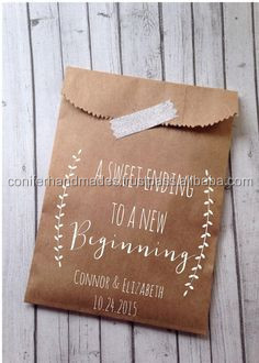 custom logo printed kraft paper bags made from recycled paper in size 8*6 inches suitable for packaging cake slices