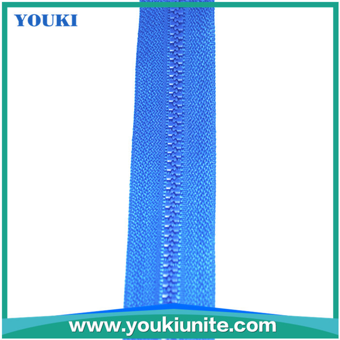 blue color #5 strong quality plastic zipper
