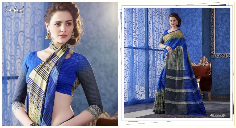 Cotton Sarees with Exclusive Pattern