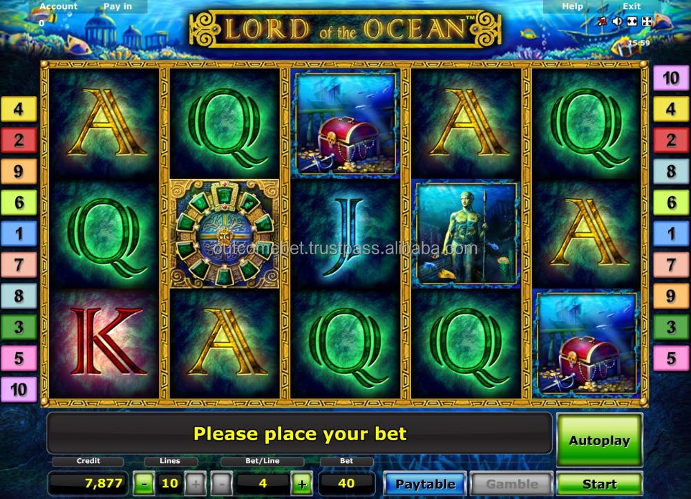 Slots, rouletes, table games for Online casino