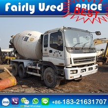 Isuzu Used Concrete Mixers Second Hand Isuzu Mixer Truck 8 cubic for sale