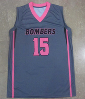 sublimated custom made own design and pattern Basketball Uniforms