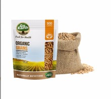 Organic Brown Wheat