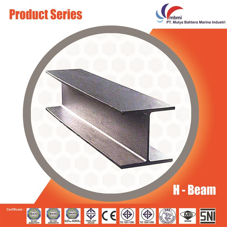 Weld steel structure H beam for plant/warehouse