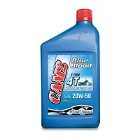 CAM2 Blue Blood Racing 4T 20W-50 Motorcycle Oil