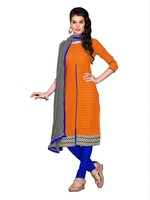 Ethnic Look Indian Fashion Unstitched Salwar Suits