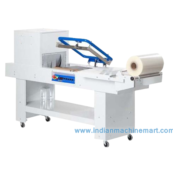 Combo Shrink Wrapping Machine (Made In India) Plastic Packaging Material And Commodity/Food/Chemical Application/Low Price