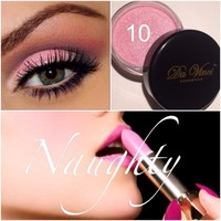 #10 Naughty Eye Shadow - Da Vinci Cosmetics - 100% Minerals Makeup over 101 colors