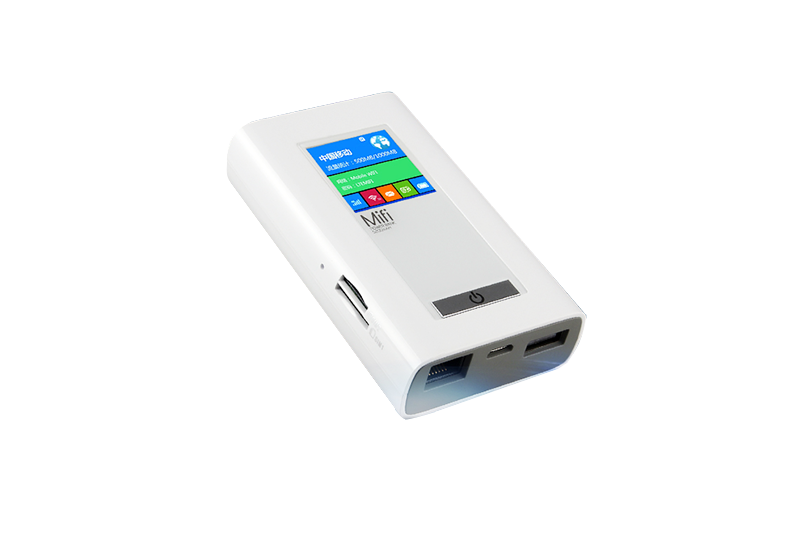 LTE portable router with power bank
