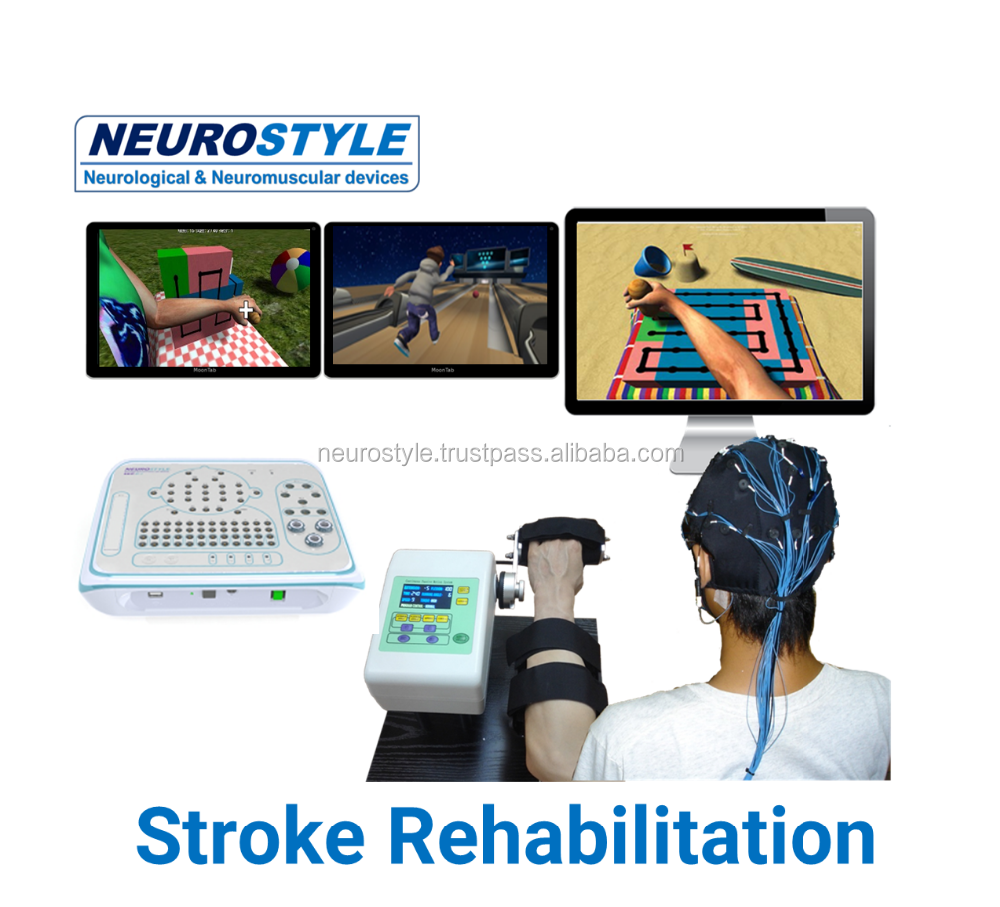 New medical Stroke Rehabilitation system with virtual reality games