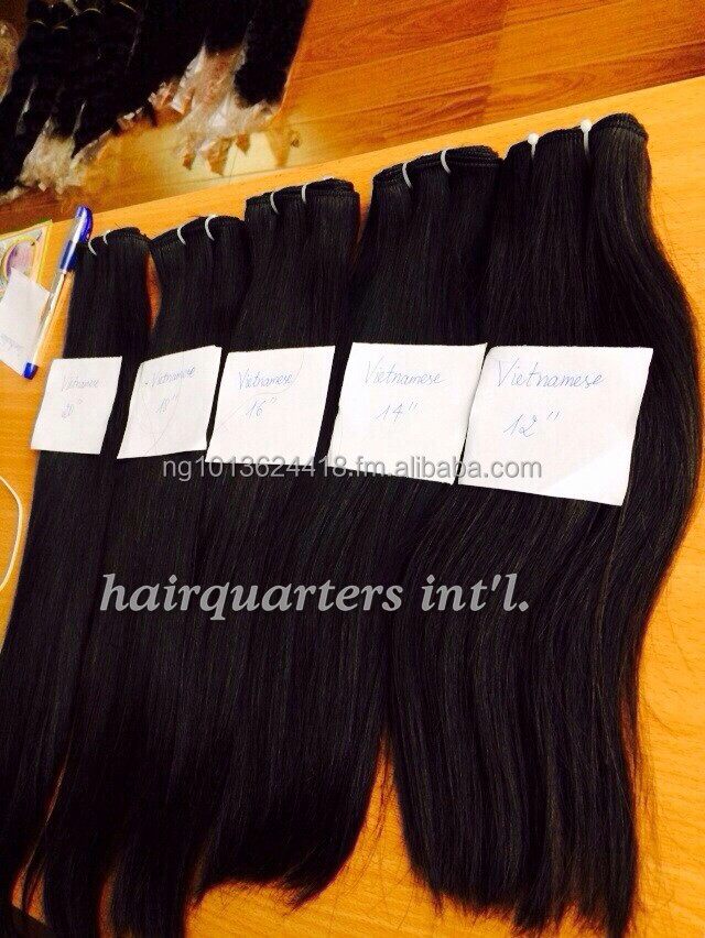 Virgin Vietnamese straight hair