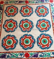 KT-23 Fancy hand printed Cotton Fabric Colorful Paterns