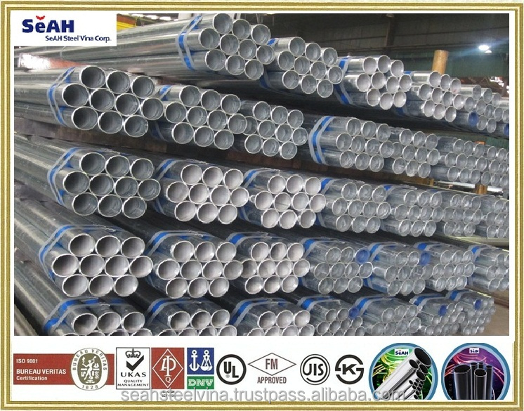 Upto 219.1mm scaffolding tube according to JIS, KS, ASTM.. or hot dipped galvanzed steel pipe, GI pipe