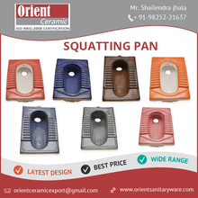 New Arrival Best Design Squatting Pan at Low Rat