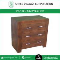 Best Selling Modern Design Wooden Chest with 3 Drawers for Living Room