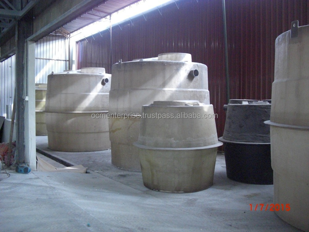 FRP CAT Septic Tank For Sewage Treatment