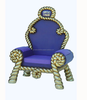 Christmas Santa Claus Chair and more than 100 other Life Christmas Fugures