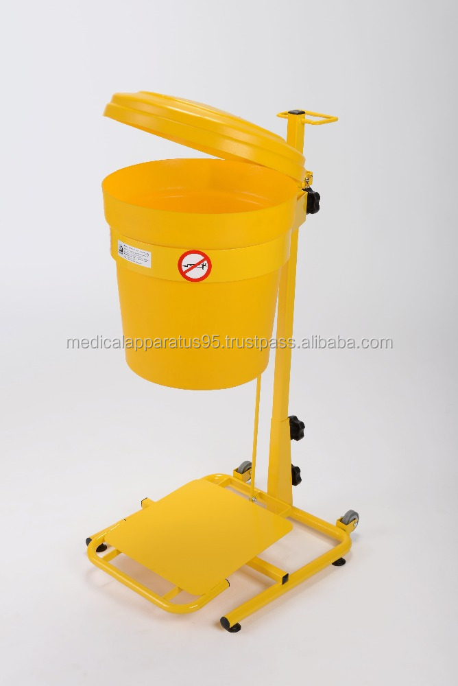 30L Mobile Pedal Operated Clinical Waste Bin