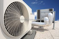 Silent right sickle axial flow fans for HVAC units, diameter up to 1100mm