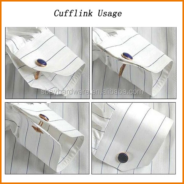 Wholesale mens cufflinks/shirt cufflinks/silk knot cufflinks