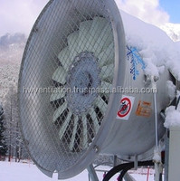 Variable pitch airfoil profile axial flow fans for snow cannons, diameter up to 1270mm