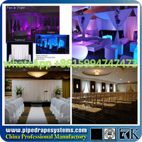 Hot! event wedding aluminum backdrop stand pipe drape/ wall covering for party