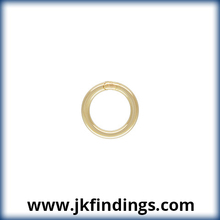 "1/20 14K Gold Filled Jewelry Findings Jump Ring 20.5ga .030x.200""(0.76x5.0mm) CL"