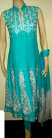 Pakistani fork style womens dress / pakistani frock dress