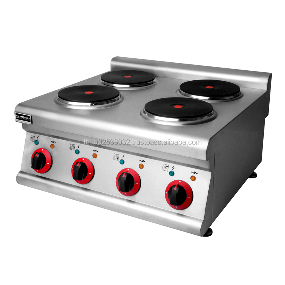 4-Plate Counter Top Electric Cooker