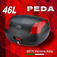 (46L) 2016 PEDA MOTOR NEW motorcycle rear box Italian design (PEDA MOTOR)