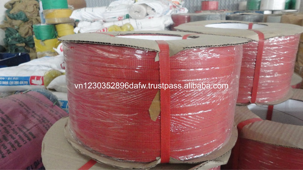 Customize size pet strapping for packing from top manufacture