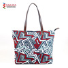 New Design PU Leather Handle Ladies Tote Bag