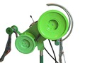 Heavy duty net winch