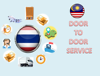Competitive Air Freight Rate from Malaysia to Thailand