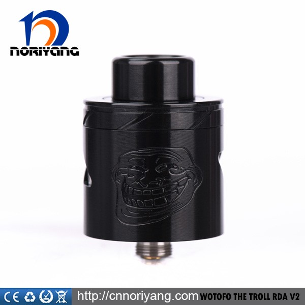 Wotofo 100% authentic the troll RDA V2 25mm with Two different AFC options
