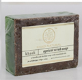 Khadi Natural Herbal Apricot Scrub Soap