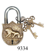New Design Antique Brass Lion Lock