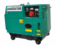 12 Kva Diesel Generator with Noise Reducing Enclosure Electric Start (50 Amps/240 Volts/50 Hz)