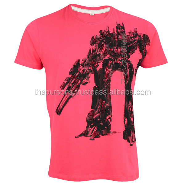 200 grams Fabric Weight and Printed Technics mens promotion t shirt