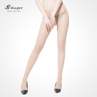 S-SHAPER Fashion Snagging Resistance Silk Stockings High Elastic Free Cut Sheer Super Thin Tights
