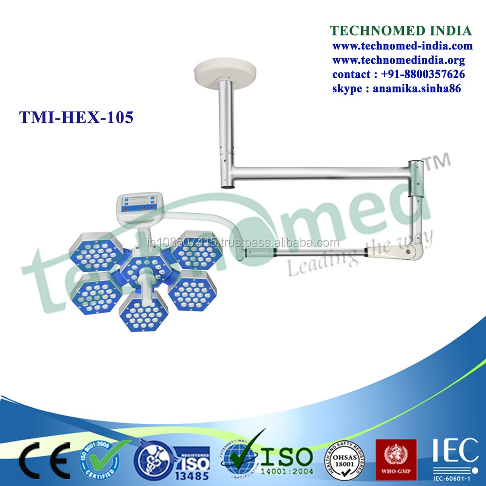 TMI-HEX-105 New LED Ring Light Of Led Operation Theatre Lighting