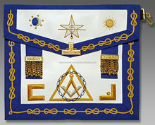 High quality masonic regalia apron , lodge Collar , Gloves Flags and Badges