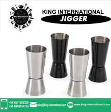 Stainless Steel Jigger with Peg Measure with Ice Peg Measure / Cubitera Inox. Con Pinzas Set