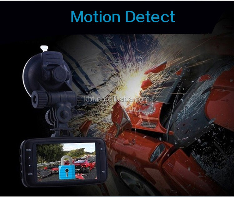 Cheapest price G8000 General plus L400B chipset car camera 2.7inch screen 120 degree VGA CAR DVR