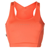 Optimum support Run Bra Top with built in breathable mesh panels