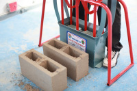 Doubell DIY M6 Cavity Hand Brick Machine